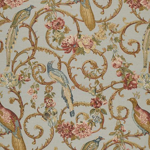 Schumacher Madrigal Sky Fabric - Fabric