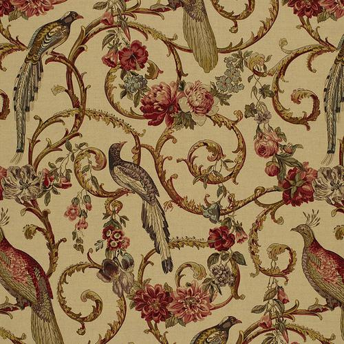 Schumacher Madrigal Document Fabric - Fabric