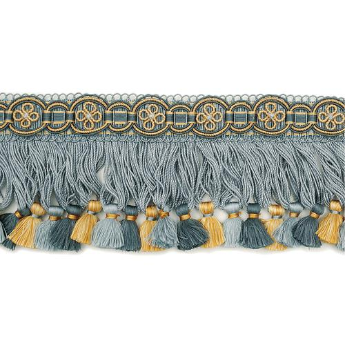 Scalamandre Siecle Condillac Fringe French Blue Trim - Trim