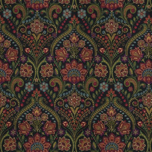 Fabricut Markook Licorice Fabric - Fabric