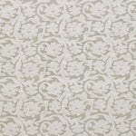 Schumacher Floral Cutwork Natural Fabric