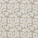 Schumacher Vine Cutwork Natural Fabric