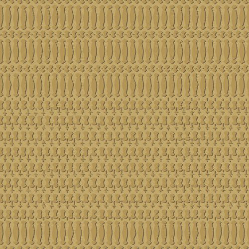 Cole & Son Fret Ochre Wallpaper - Wallpaper