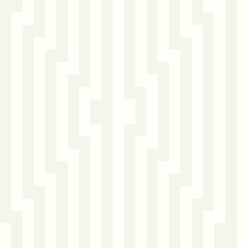 Cole & Son Diamond Stripe Black & White Wallpaper - Wallpaper