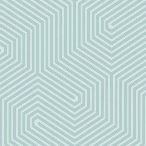 Cole & Son Labyrinth Light Green Wallpaper - Wallpaper