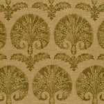 Schumacher Tasha Carnation Basil Fabric