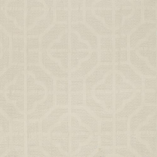 Schumacher Crossbridge Casement Ivory Fabric - Fabric