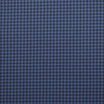 Ralph Lauren Sullivan Houndstooth Blue Fabric