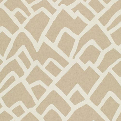 Schumacher Zimba Natural Fabric - Fabric