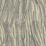 Groundworks Currents Silk Ebony/Oatmeal Fabric