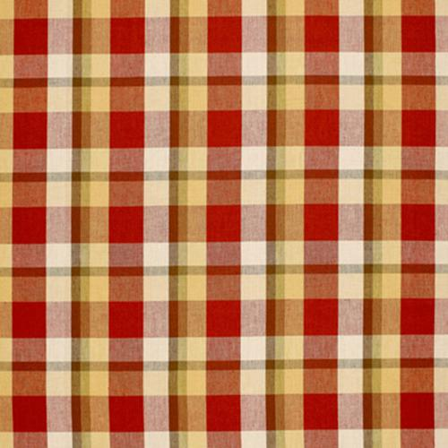 Schumacher Augusta Linen Plaid Orchard Fabric - Fabric
