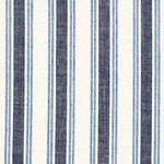 Schumacher Leah Linen Stripe Sail Fabric