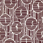 Schumacher Bamboo Forest Print Java Fabric