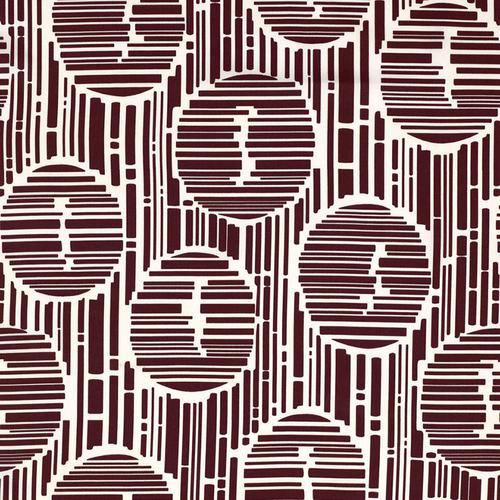 Schumacher Bamboo Forest Print Java Fabric - Fabric