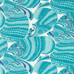 Schumacher Pisces Print Pool Fabric