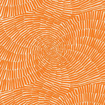 Schumacher Sonriza Print Orange Fabric