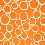 Schumacher Sunglass Print Orange Fabric