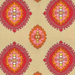 Schumacher Super Paradise Print Punch Fabric