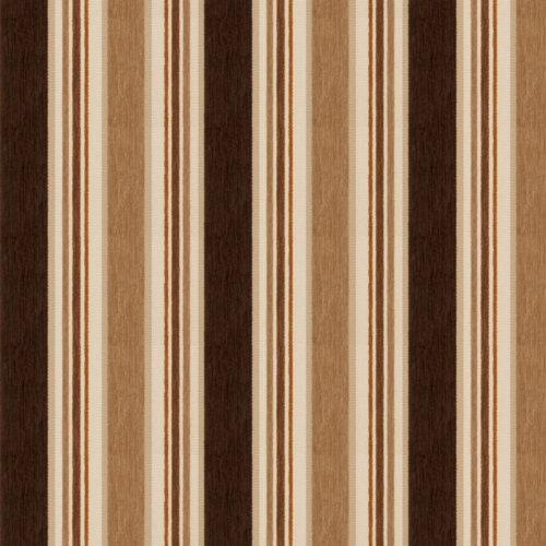 Fabricut Casa Stripe French Roast Fabric - Fabric