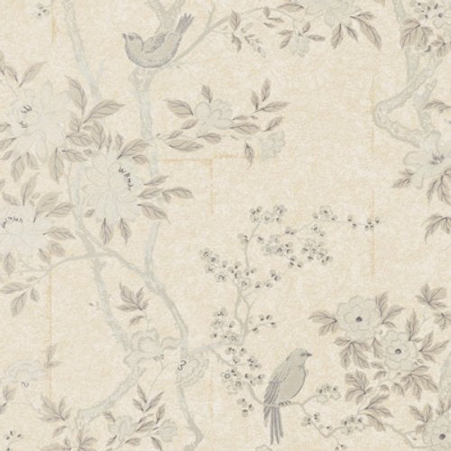 Ralph Lauren Marlowe Floral Mother Of Pearl * Wallpaper - Wallpaper