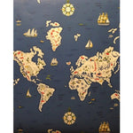 Ralph Lauren Expedition Novelty M Baltic Blue * Wallpaper