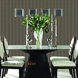 Ralph Lauren Sloane Stripe Tuxedo Black Wallpaper