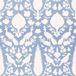 Schumacher Chenonceau Sky Fabric