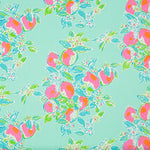 Lee Jofa Pink Lemonade Pool Blue Fabric