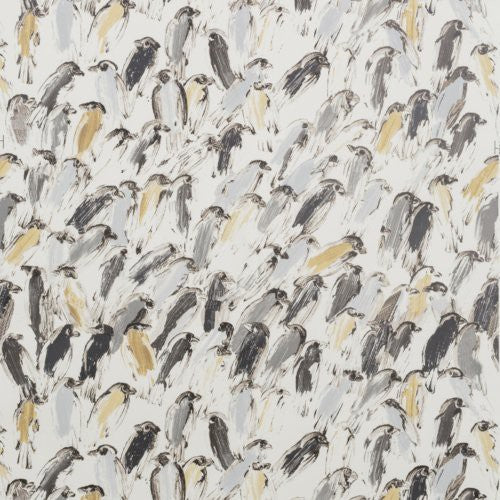 Groundworks Finches Neutral/Ivory Wallpaper - Wallpaper