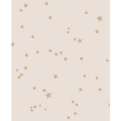 Cole & Son Stars Pink & Gold Wallpaper - Wallpaper