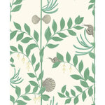 Cole & Son Secret Garden Dark Green Wallpaper