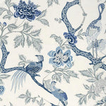 Schumacher Arbre Chinois Porcelain Fabric