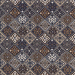 Schumacher Kilim Weave Denim Fabric