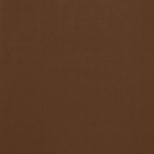 Schumacher Avery Cotton Plain Java Fabric - Fabric