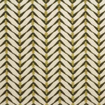Groundworks Zebrano Bge/Meadow Fabric