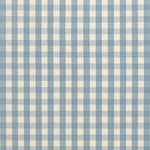 Schumacher Elton Cotton Check Chambray Fabric