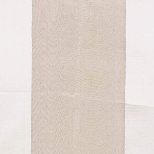 Kravet Satin Panel Sheer Cream Fabric - Fabric
