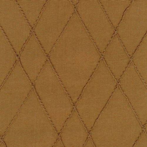 Kasmir Silk 2010 Walnut Fabric - Fabric