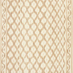 Schumacher Santa Monica Ikat Neutral Fabric