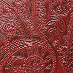 Scalamandre Paisley Black Cherry Wallpaper