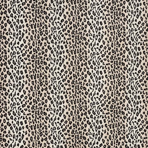 Schumacher Safari Epingle Snow Leopard Fabric - Fabric