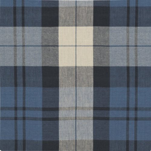 Ralph Lauren Summer Cottage Plaid Indigo Fabric - Fabric