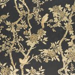 Ralph Lauren Marlowe Floral Gilded Lacquer Wallpaper