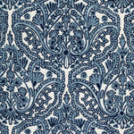 Schumacher Claremont Crewel Embroidery Delft Fabric