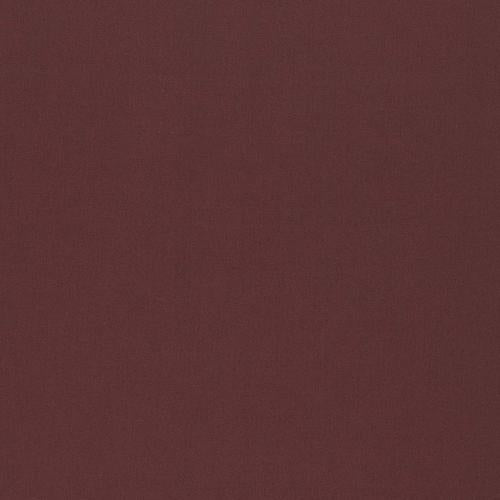 Schumacher Isolde Cotton Weave Aubergine Fabric - Fabric