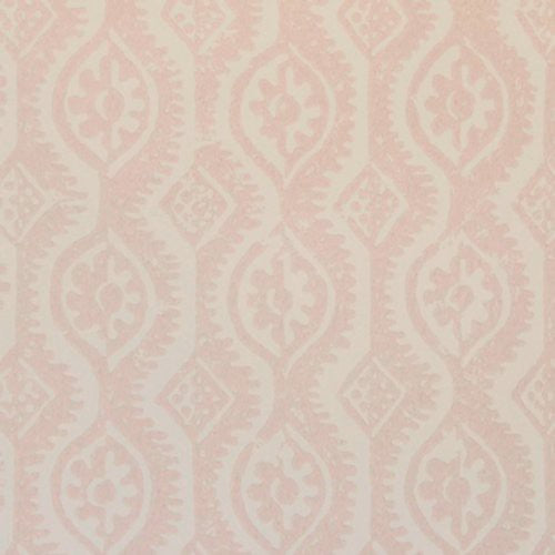 Lee Jofa Small Damask Pink Wallpaper - Wallpaper