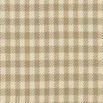 Kasmir Spit Spot Check Biscuit Fabric
