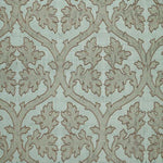 Schumacher Ravenna Embroidery Mineral Fabric