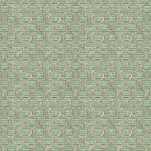 Lee Jofa Bosphorus Check Seaglass Fabric - Fabric