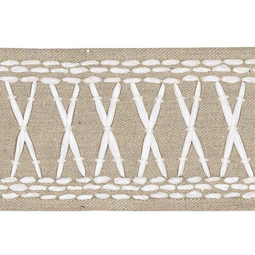 Schumacher Tikki Tape Sea Oyster Trim - Trim